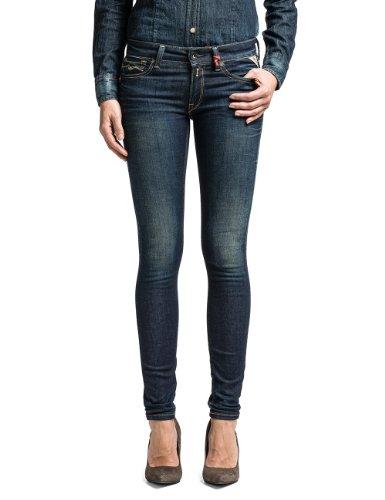 Replay Damen Skinny Jeans Luz, Gr. W27/L32 (Herstellergröße: 27), Blau (BLUE 9) thumbnail