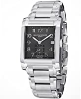 Baume and Mercier Automatic Black Dial Stainless Steel Mens Watch MOA10048 from Baume et Mercier