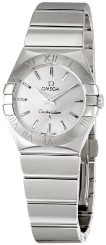 Omega Women's 123.10.27.60.02.002 Constellation Silver Dial Watch