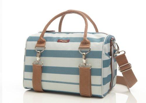 Po Campo Logan Trunk Bag, Sky Stripes, One Size