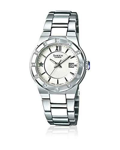 Casio Orologio con Movimento al Quarzo Giapponese Woman SHE-4500D-7AER 29 mm