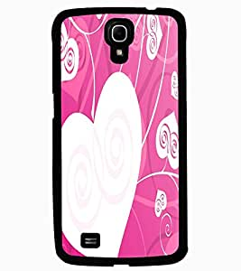 ColourCraft Love Hearts Design Back Case Cover for SAMSUNG GALAXY MEGA 6.3 I9200