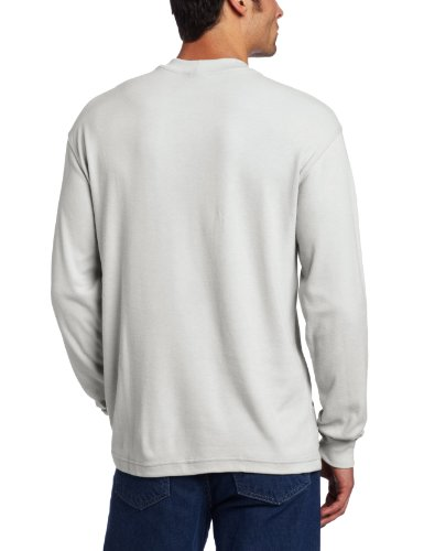 Carhartt men 39 s flame resistant traditional long sleeve t for Carhartt men s long sleeve lightweight cotton shirt