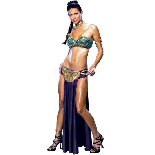 STAR WARS - SEXY PRINCESS LEIA SLAVE COSTUME - Size: XS Extra Small