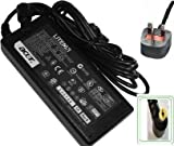 LAPTOP AC ADAPTOR CHARGER GENUINE FOR EMACHINE D520 D620 E510 E520 E525 E625 E720 G520 POWER SUPPLY + UK POWER CORD