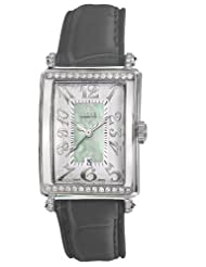Gevril Women's 7246NE.7A Green Mother-of-Pearl Genuine Alligator Strap Watch
