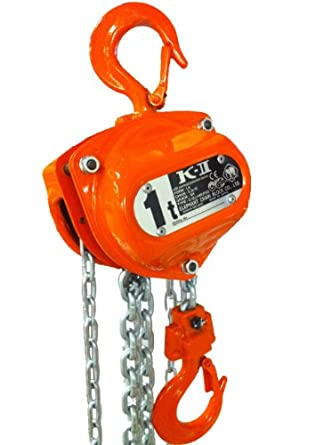 Elephant Lifting KIIOP Hand Chain Hoist, Overload Protection, Hook Mount