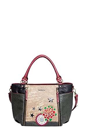 Desigual Sevilla Camila Cross Body, Brown, One Size: Handbags: Amazon