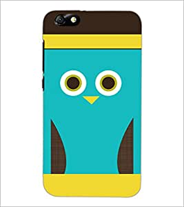 PrintDhaba Cartoon D-3530 Back Case Cover for HUAWEI HONOR 4X (Multi-Coloured)