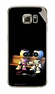 Miicreations Mobile Skin Sticker For Samsung Galaxy S6,Animated Cartoon