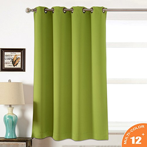 AMAZLINEN Sleep Well Blackout Curtains Toxic Free Energy Smart Thermal Insulated,52 W Inch,Grommet Top,1 Panel Pack(52