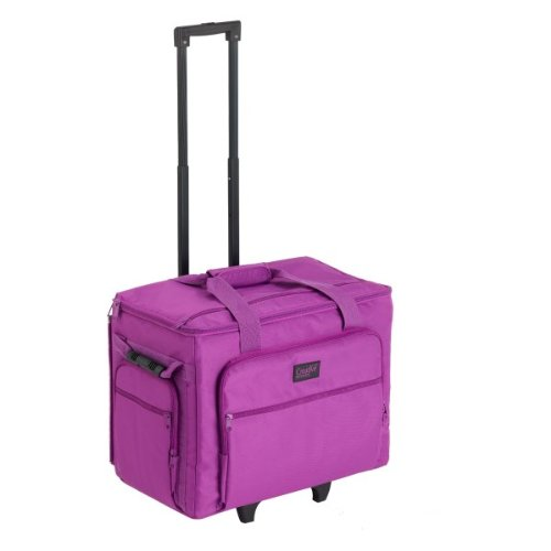 Creative Notions X-Large Sewing Machine Trolley In Purple front-639825