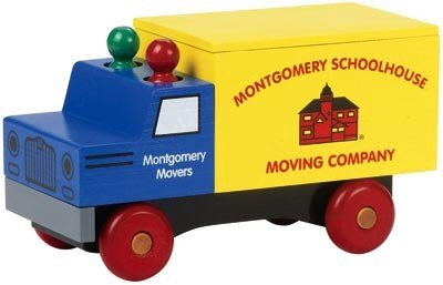 Classic Moving Truck - Buy Classic Moving Truck - Purchase Classic Moving Truck (Montgomery Schoolhouse, Toys & Games,Categories,Play Vehicles,Wood Vehicles)