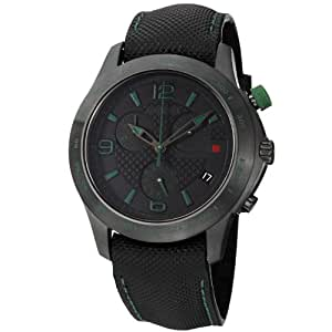 Men's G-Timeless Watch with Black Dial