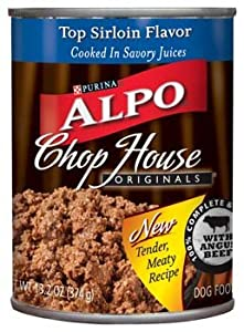 Alpo Chop House Top Sirloin Flavor Dog Food 13.2 oz