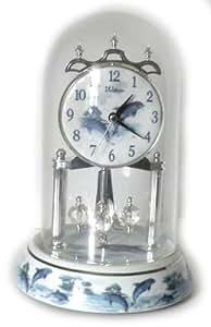 Waltham Anniversary Clock Dolphins