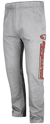 San Francisco 49ers Majestic NFL Getting Started Men's Fleece Sweatpants - Gray