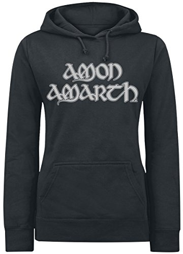 Amon Amarth Ship Felpa donna nero S