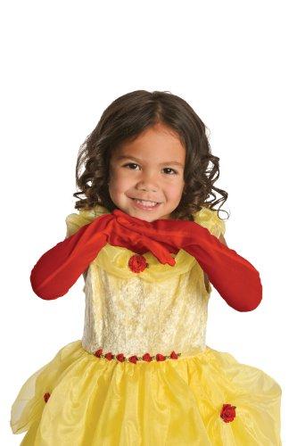 Princess Gloves Red