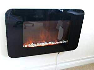 2015 MODEL 2KW FLAT WALL MOUNTED ELECTRIC FIRE   CHILD SAFE CORNERS       Customer review and more information