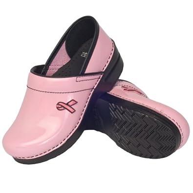 Breast Cancer Awareness - Pink Breast Cancer Dansko Clogs
