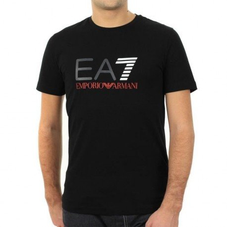 EA7 Armani -  T-shirt - Uomo nero Large