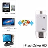 Shopybucket Usb I-Flash Drive Micro Sd Memory Card Reader For Ipad 4 Mini Iphone 5S/6 6Plus - WhiteBuy & ( Free... - B06Y23PHL2