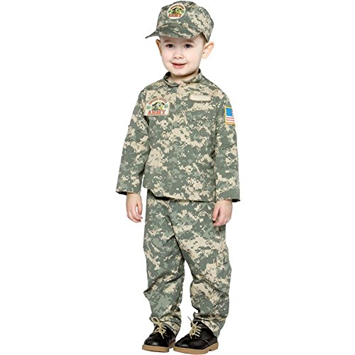 Toddler US ARMY Costume (Size:2-4T)