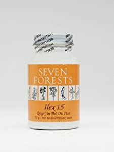 Ilex 15 - Seven Forests - 100 Tablets, 700 Mg.