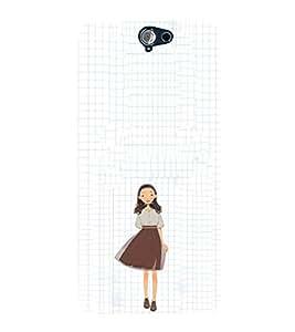 EPICCASE Sweet little School girl Mobile Back Case Cover For HTC One A9 (Designer Case)