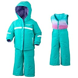 Columbia Snow Brooklyn Reversible Snow Suit - Infant Reef, 6MO