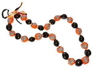 Buy NCAA Oregon State Beavers Go Nuts Kukui Nut Lei Necklace by Style Pasifika