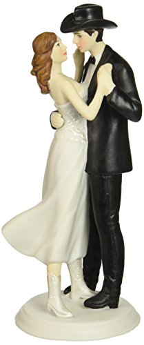 "Weddingstar ""A Romantic Western Couple"" Cake Topper"