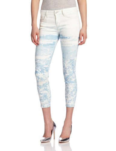 Joe's Jeans Women's Skinny Crop Waves Super Chic, Ocean, 29