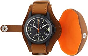 Buy Victorinox Swiss Army Men s Quartz Watch Original Chronograph LE 241594  Leather Strap from Amazon at db3c3a7f45