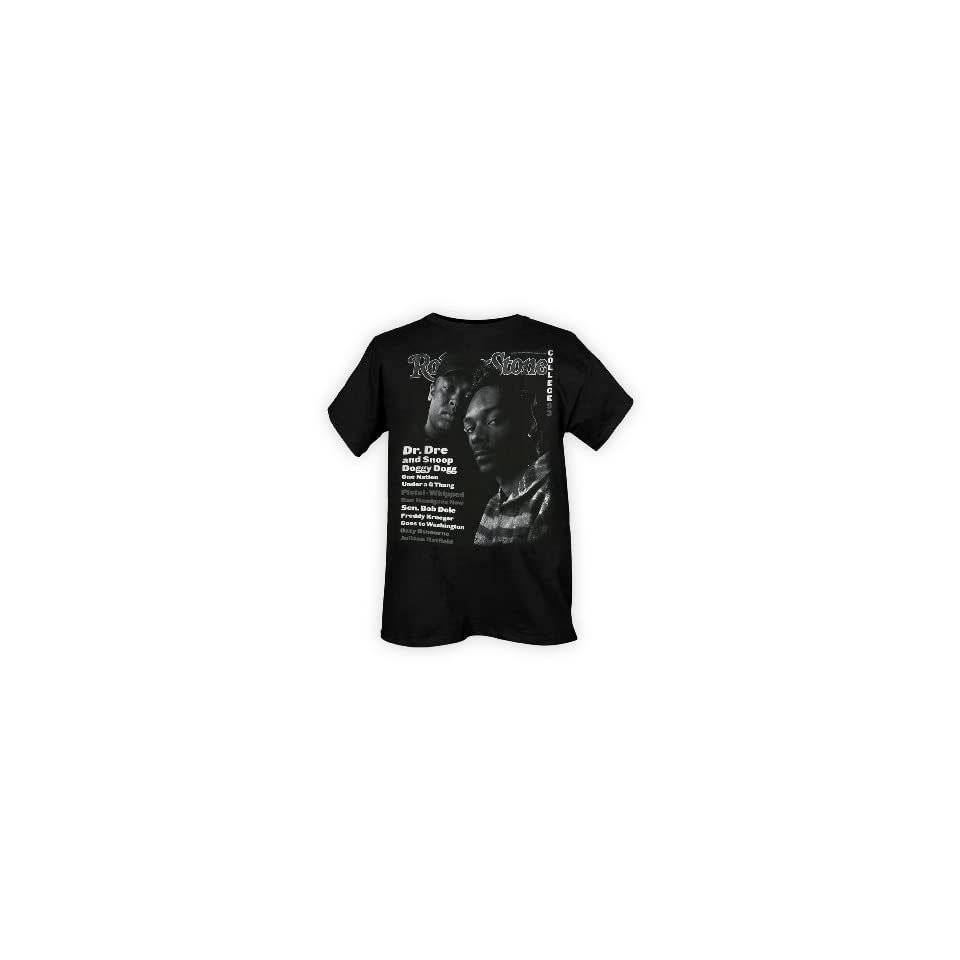Snoop Dogg And Dr Dre Rolling Stone Cover T Shirt
