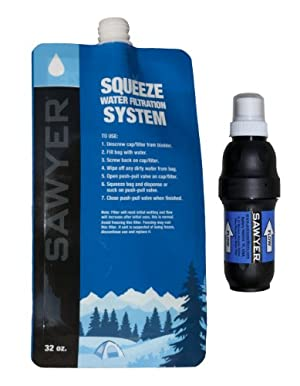 Sawyer Pointone Squeeze Water Filtration System