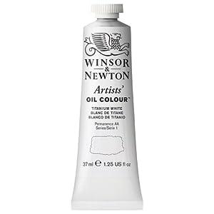 Winsor & Newton 37ml Artists' Oil Colour - Titanium White