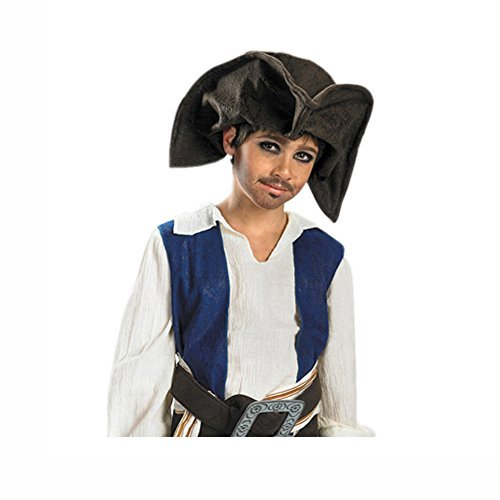 Disney Fun Accessory Jack Sparrow Pirate Hat Child