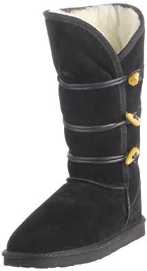 Ukala Women's Taj High Boot,Black,7 M US