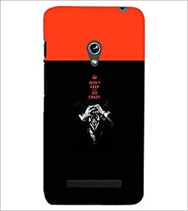 PrintDhaba Quote D-5745 Back Case Cover for ASUS ZENFONE 5 A501CG (Multi-Coloured)