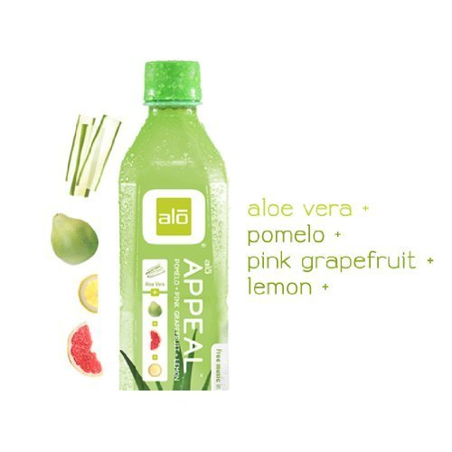 ALO Appeal Aloe Vera + Pomelo + Pink Grapefruit + Lemon (12x16.9oz) by ALO