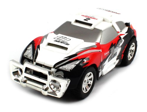 REBUILDS AFTER CRASH Electric Full Function 1:24 Self Rebuilding Executant Rally RTR RC Car (Colors May Vary)