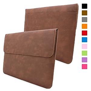 """Snugg Macbook Air 11"""" Tasche (Braun) - Leder Hülle mit lebenslanger Garantie für MacBook Air 11"""""""