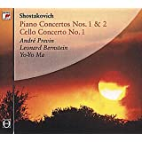 Shostakovich: Piano Concertos Nos. 1 & 2 / Cello Concerto No. 1by Various
