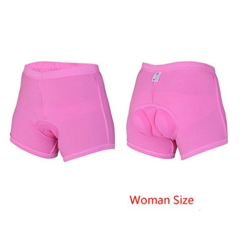 Xcellent Global 3D Padded Women's Bicycle Cycling Underwear Shorts Underpants - FS015S