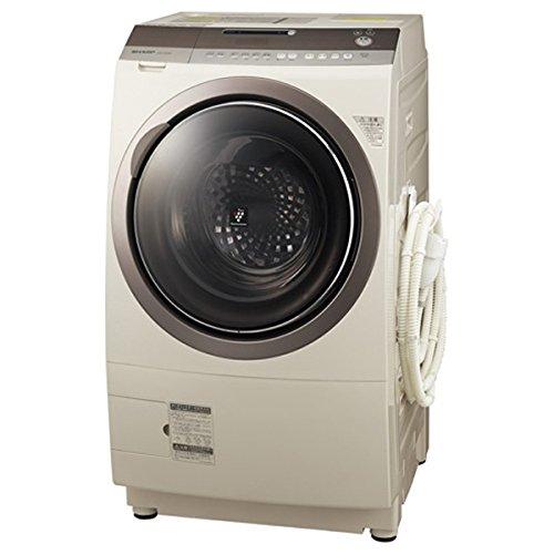 シャープ 9.0kg ドラム式洗濯乾燥機【右開き】ゴールド系SHARP プラズマクラスター洗濯乾燥機 ES-Z200-NR