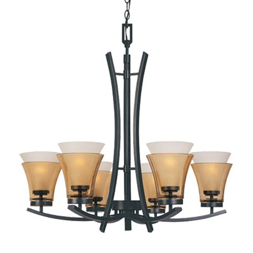 B004NLH1ZE Designers Fountain 83186-ORB Majorca Chandeliers, Oil Rubbed Bronze