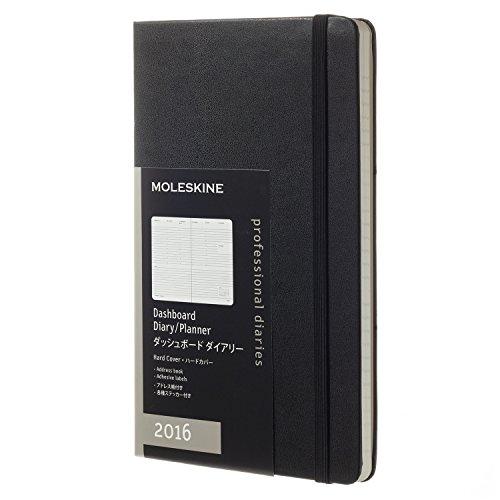 モレスキン 手帳 2016 ウィークリー 1月始まり プロフェッショナル ラージ ブラック ハードカバー DHB12WD3Y16