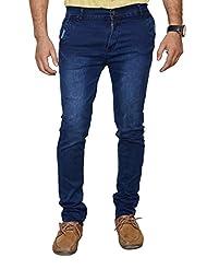 Karya Men Dark Blue Slim Fit High Fashion Jeans